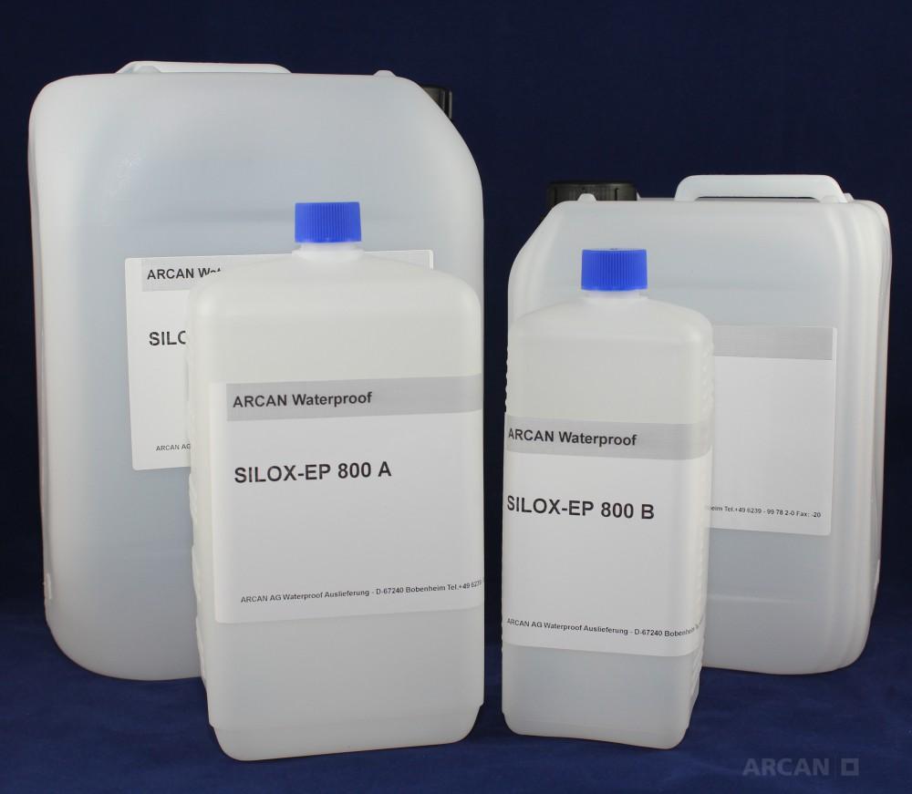 Silox 800 EP - маловязкая эпоксидная смола для инъектирования