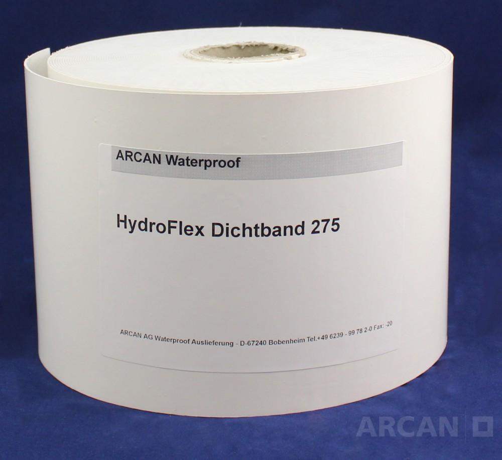 Уплотнительная лента HydroFlex Tape 275 - Лента для герметизации рабочих, температурных швов и трещин