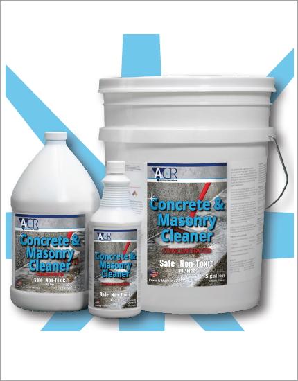 Очистка бетона ACR Concrete & Masonry Cleaner
