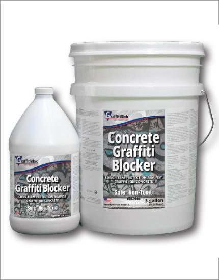 Защитный раствор GraffitiBlok Concrete Graffiti Blocker