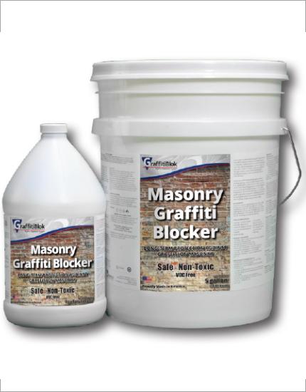 Защитный раствор GraffitiBlok Masonry Bloffiti Blocker
