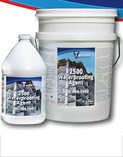 Проникающая гидроизоляция TechCrete 2500 Waterproofing Agent