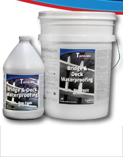Проникающая гидроизоляция TechCrete® 2500 Bridge & Deck Waterproofing Agent
