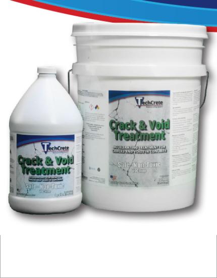 Добавка для заполнения трещин и пустот TechCrete® Crack & Void Treatment