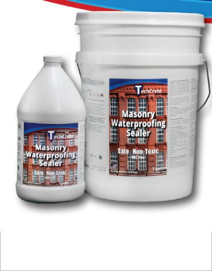 Кладочный гидроизоляционный раствор TechCrete® Premium Masonry Waterproofing Agent