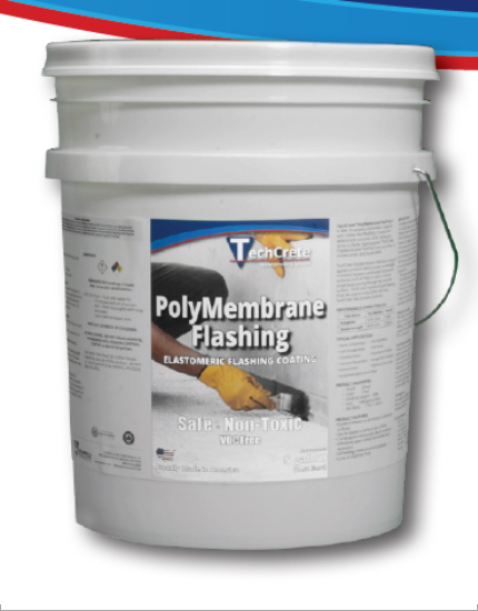 Гидроизоляционная эластомерная мембрана TechCrete® PolyMembrane Flashing