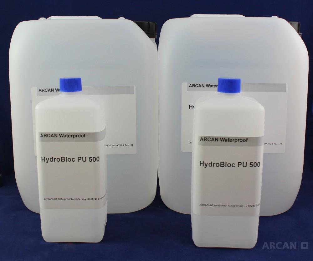 HydroBloc-PU 500 - Гидроактивная инъекционная смола
