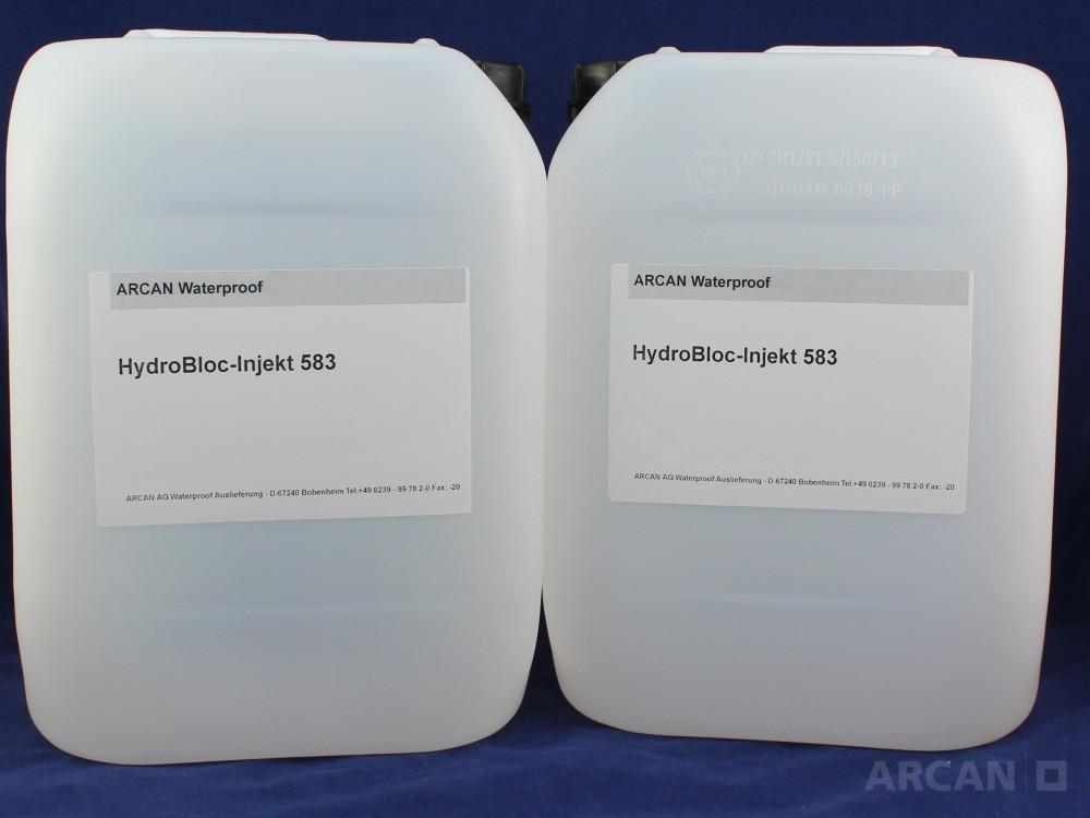 HydroBloc Injekt 583 - Гидрофильная разбухающая смола с активной антикоррозийной защитой